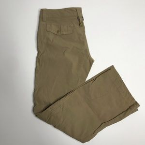 Athleta Dipper hiking pant in khaki sz 2p